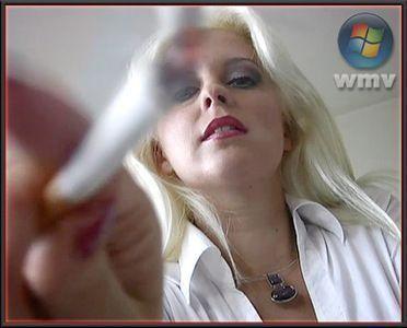 Mistress Biggi Bardot uses human ashtray